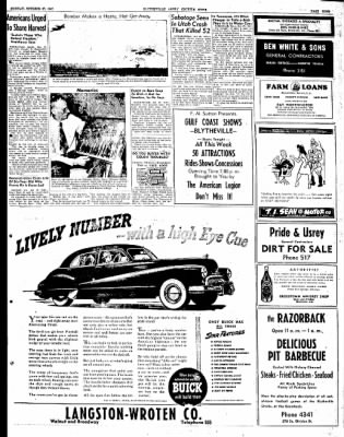 The Courier News from Blytheville, Arkansas on October 27, 1947 · Page 9