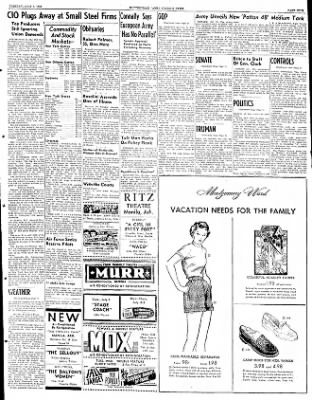 The Courier News from Blytheville, Arkansas on July 1, 1952 · Page 3