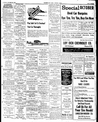 The Courier News from Blytheville, Arkansas on October 28, 1947 · Page 11