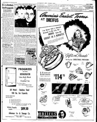 The Courier News from Blytheville, Arkansas on October 29, 1947 · Page 3