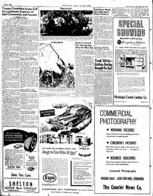 The Courier News from Blytheville, Arkansas on October 29, 1947 · Page 10