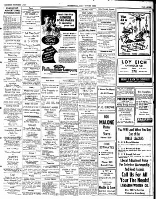 The Courier News from Blytheville, Arkansas on November 1, 1947 · Page 7