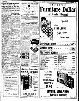 The Courier News from Blytheville, Arkansas on November 3, 1947 · Page 2