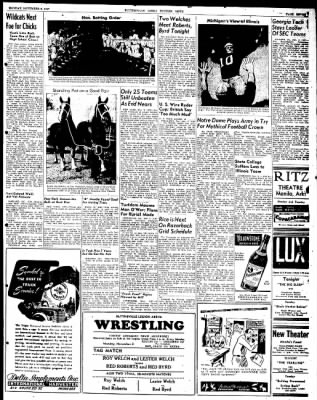 The Courier News from Blytheville, Arkansas on November 3, 1947 · Page 7