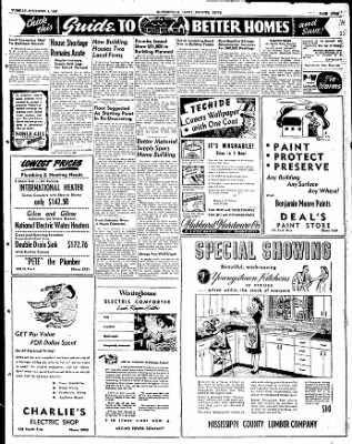 The Courier News from Blytheville, Arkansas on November 4, 1947 · Page 9