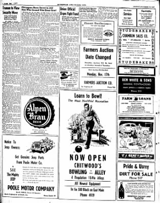 The Courier News from Blytheville, Arkansas on November 10, 1947 · Page 6