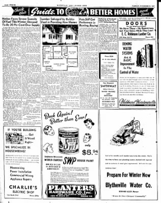 The Courier News from Blytheville, Arkansas on November 11, 1947 · Page 12