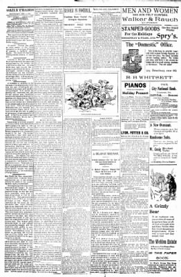Logansport Pharos-Tribune from Logansport, Indiana on December 4, 1897 · Page 20