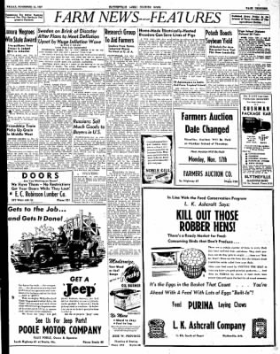 The Courier News from Blytheville, Arkansas on November 14, 1947 · Page 13