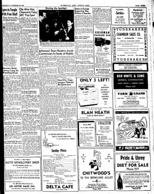The Courier News from Blytheville, Arkansas on November 15, 1947 · Page 7