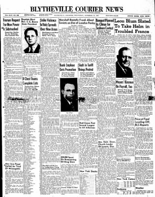 The Courier News from Blytheville, Arkansas on November 19, 1947 · Page 1