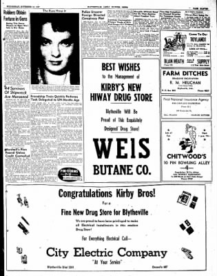 The Courier News from Blytheville, Arkansas on November 19, 1947 · Page 11