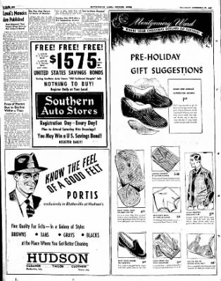 The Courier News from Blytheville, Arkansas on November 20, 1947 · Page 6