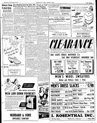 The Courier News from Blytheville, Arkansas on November 20, 1947 · Page 7