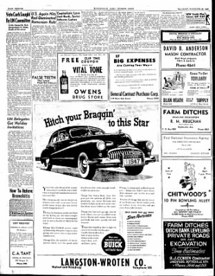 The Courier News from Blytheville, Arkansas on November 20, 1947 · Page 12