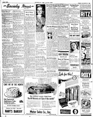 The Courier News from Blytheville, Arkansas on November 21, 1947 · Page 4