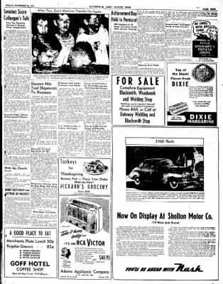 The Courier News from Blytheville, Arkansas on November 21, 1947 · Page 9