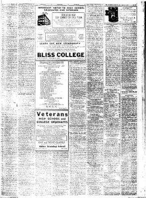 Columbus Evening Dispatch From Columbus Ohio On April 27 1947