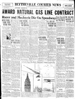 The Courier News from Blytheville, Arkansas on May 26, 1931 · Page 1
