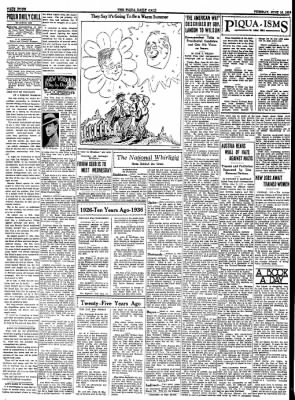 The Piqua Daily Call from Piqua, Ohio on June 16, 1936 · Page 4