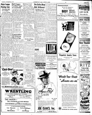 The Courier News from Blytheville, Arkansas on December 9, 1946 · Page 5