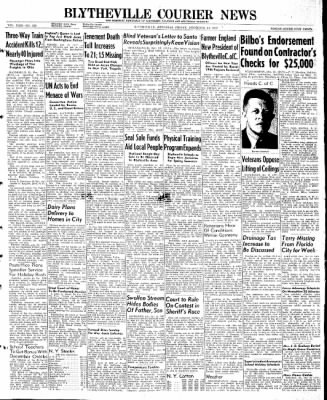 The Courier News from Blytheville, Arkansas on December 13, 1946 · Page 1