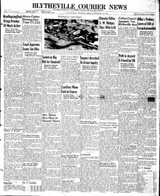 The Courier News from Blytheville, Arkansas on December 16, 1946 · Page 1