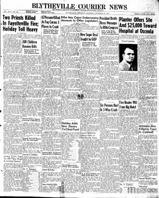 The Courier News from Blytheville, Arkansas on December 26, 1946 · Page 1