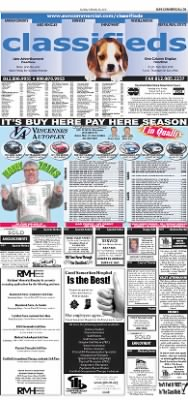 The Vincennes Sun-Commercial from Vincennes, Indiana on