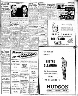 The Courier News from Blytheville, Arkansas on December 27, 1946 · Page 3