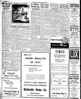 The Courier News from Blytheville, Arkansas on December 27, 1946 · Page 6