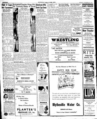 The Courier News from Blytheville, Arkansas on December 30, 1946 · Page 8