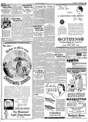 The Piqua Daily Call from Piqua, Ohio on December 5, 1936 · Page 10