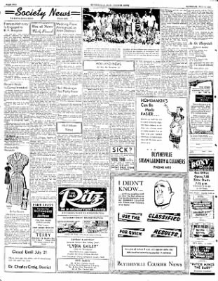 The Courier News from Blytheville, Arkansas on July 5, 1952 · Page 1