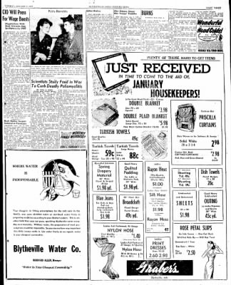The Courier News from Blytheville, Arkansas on January 7, 1947 · Page 3