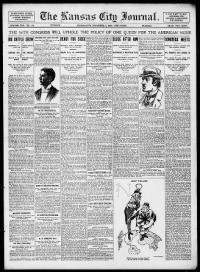 Sample Kansas City Journal front page