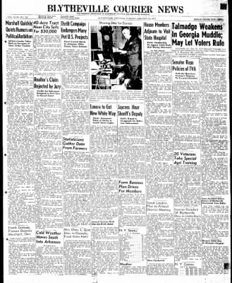 The Courier News from Blytheville, Arkansas on January 21, 1947 · Page 1