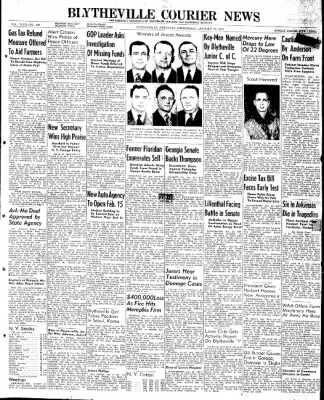 The Courier News from Blytheville, Arkansas on January 22, 1947 · Page 1
