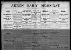 Akron Daily Democrat