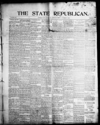 Sample The State Republican front page