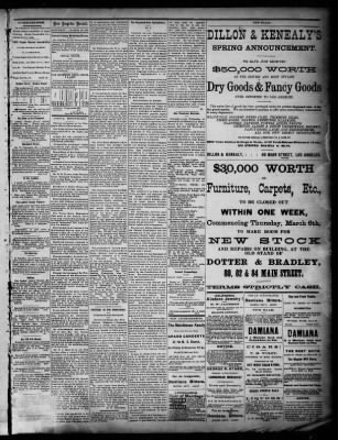 Los Angeles Herald from ,  on March 29, 1879 · Page 3