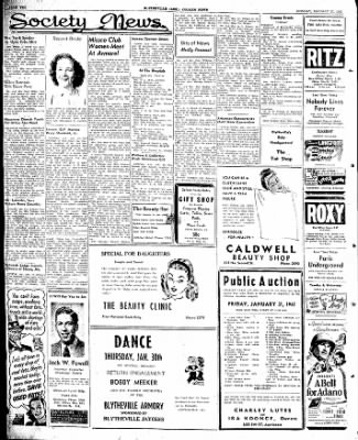 The Courier News from Blytheville, Arkansas on January 27, 1947 · Page 2