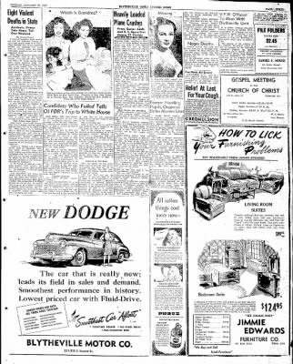 The Courier News from Blytheville, Arkansas on January 27, 1947 · Page 3