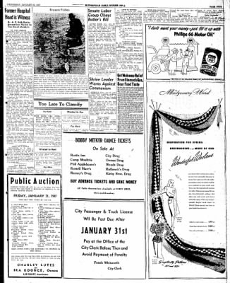The Courier News from Blytheville, Arkansas on January 29, 1947 · Page 5