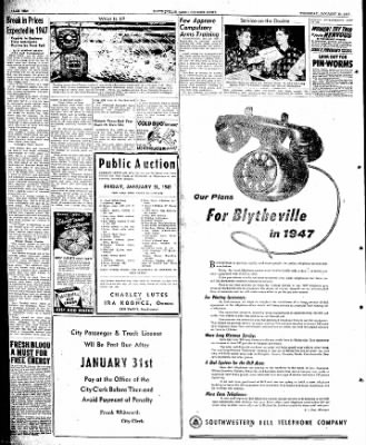 The Courier News from Blytheville, Arkansas on January 30, 1947 · Page 10