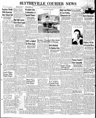 The Courier News from Blytheville, Arkansas on February 3, 1947 · Page 1