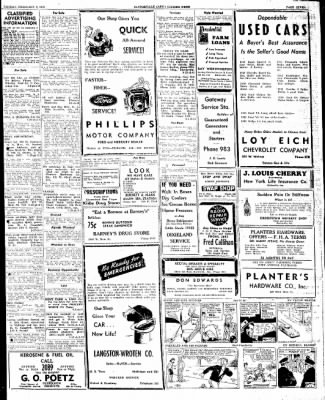 The Courier News from Blytheville, Arkansas on February 3, 1947 · Page 7