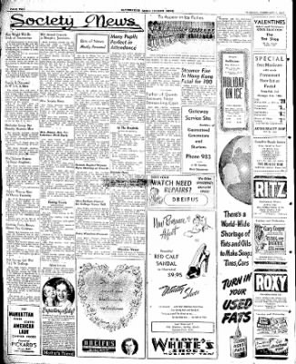 The Courier News from Blytheville, Arkansas on February 4, 1947 · Page 2