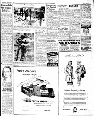 The Courier News from Blytheville, Arkansas on February 4, 1947 · Page 3
