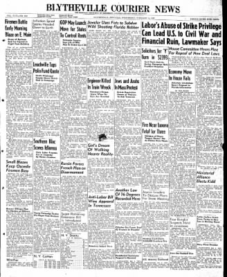 The Courier News from Blytheville, Arkansas on February 5, 1947 · Page 1